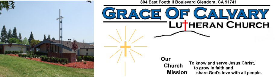 Grace of Calvary Lutheran Church